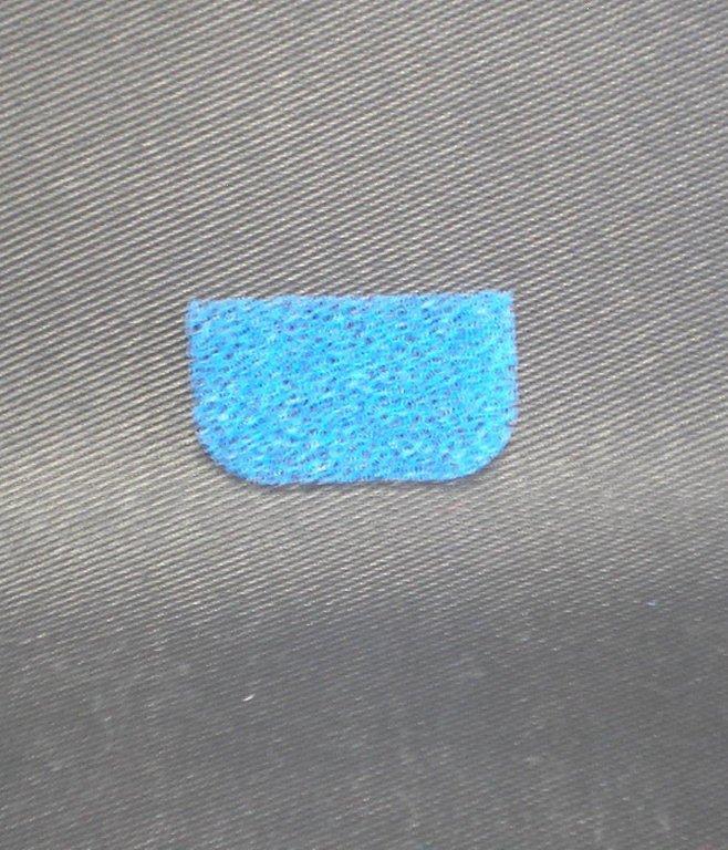 Pěnový filtr motorový pro vysavač s vodním filtrem s rovnou stranou