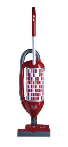 tyčový vysavač SEBO Felix Premium 1 ROSSO s rotačním kartáčem (9809 ROSSO ( červená / šedá ))