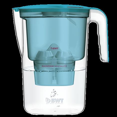 filtrační konvice BWT VIDA 2,6l - modra + 3x filtr Mg2+ (BWT VIDA modrá)