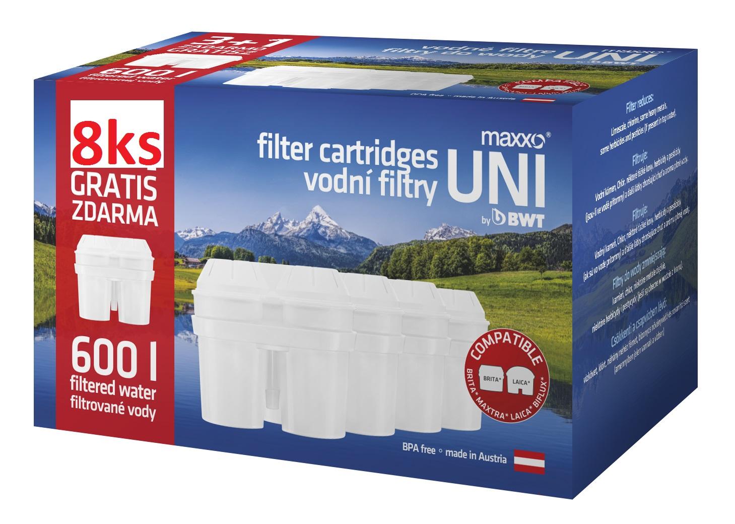 filtry do konvice MAXXO UNI 8ks (MAXXO 8)